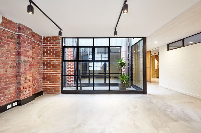'Glass box' office Creative workspace, Warehouse office