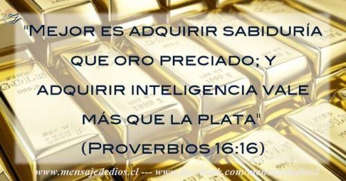 El principio de la sabiduría es el temor de Jehová (Proverbios 1:7). #mensajededios2 #oroporti