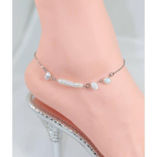 Ankle bracelet Wedding Anklets Pearl anklets Anklets Freshwater