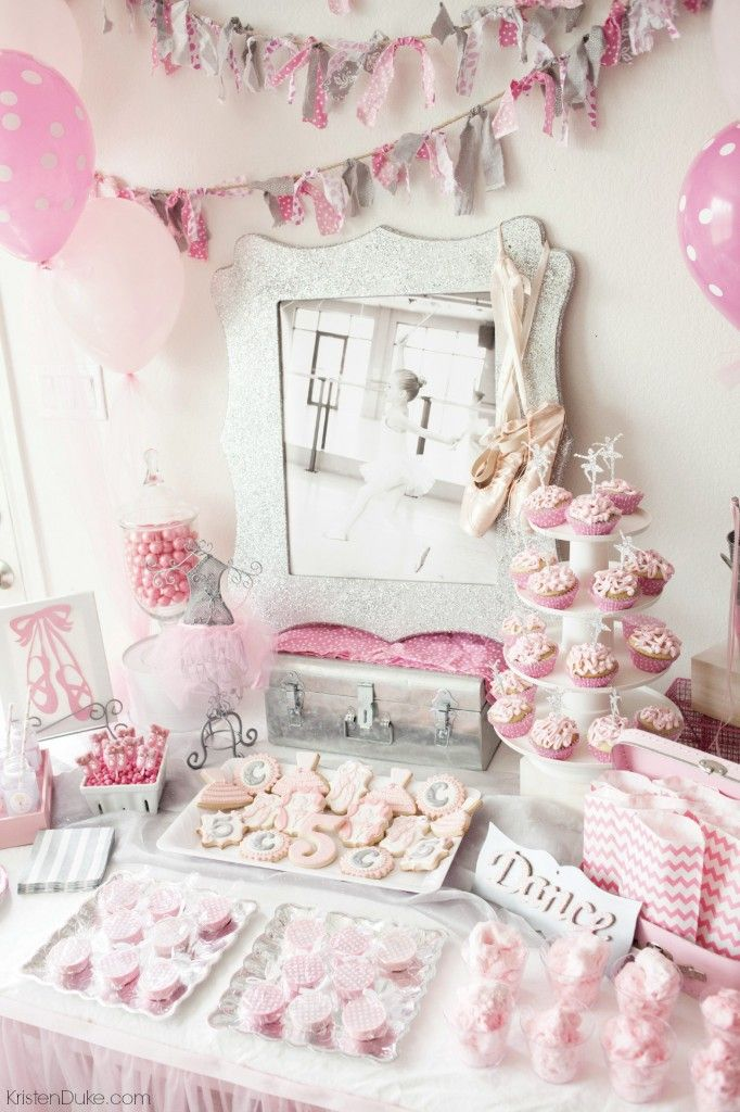 Ballerina birthday party ballerina birthday parties for Ballerina party decoration