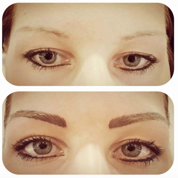 Maquillage permanent des sourcils regard sublim caract re affirm travail en poil poil dense - Maquillage permanent sourcils poil a poil ...