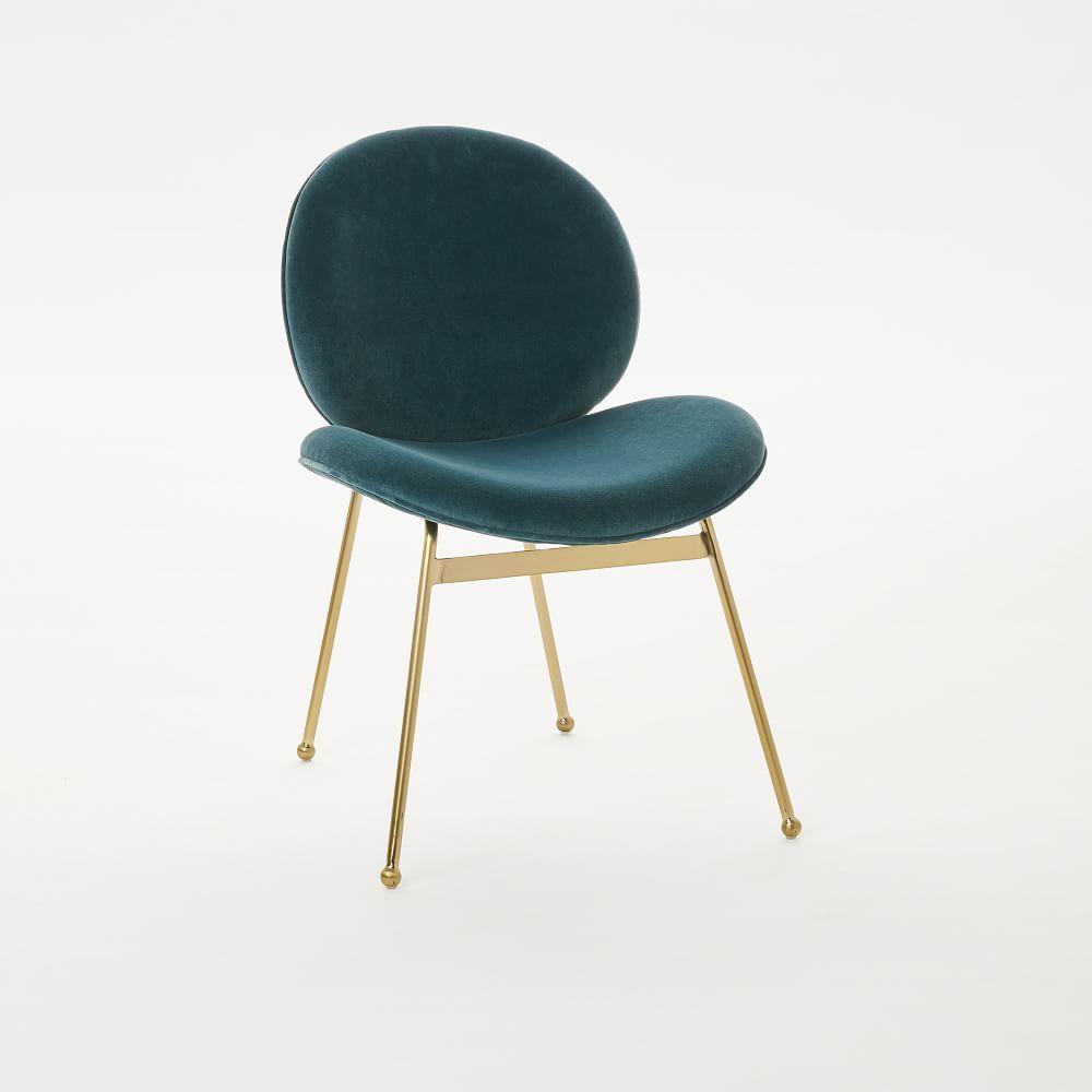 Awe Inspiring Jane Dining Chair Velvet West Elm Australia Number 60 Ncnpc Chair Design For Home Ncnpcorg
