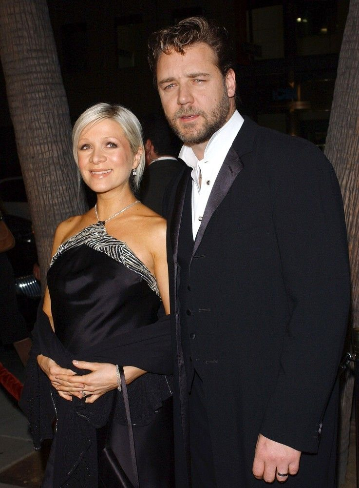 Russell Crowe and Danielle Spencer Photos Photos: File