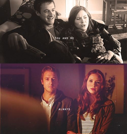 Amy and Rory.