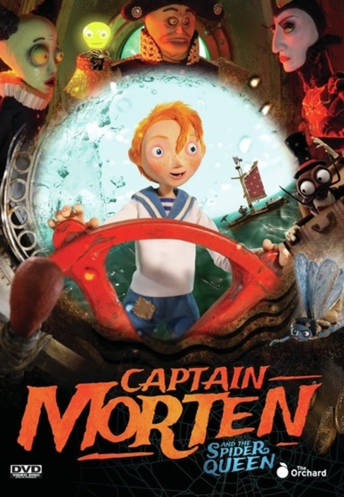Captain Morten and the Spider Queen [DVD] [2018]
