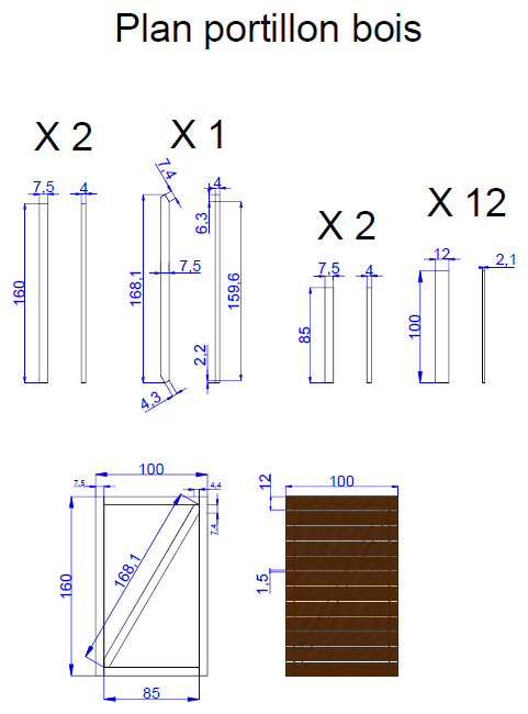 comment fabriquer un portail en bois portail pinterest portail bois portail et bois. Black Bedroom Furniture Sets. Home Design Ideas