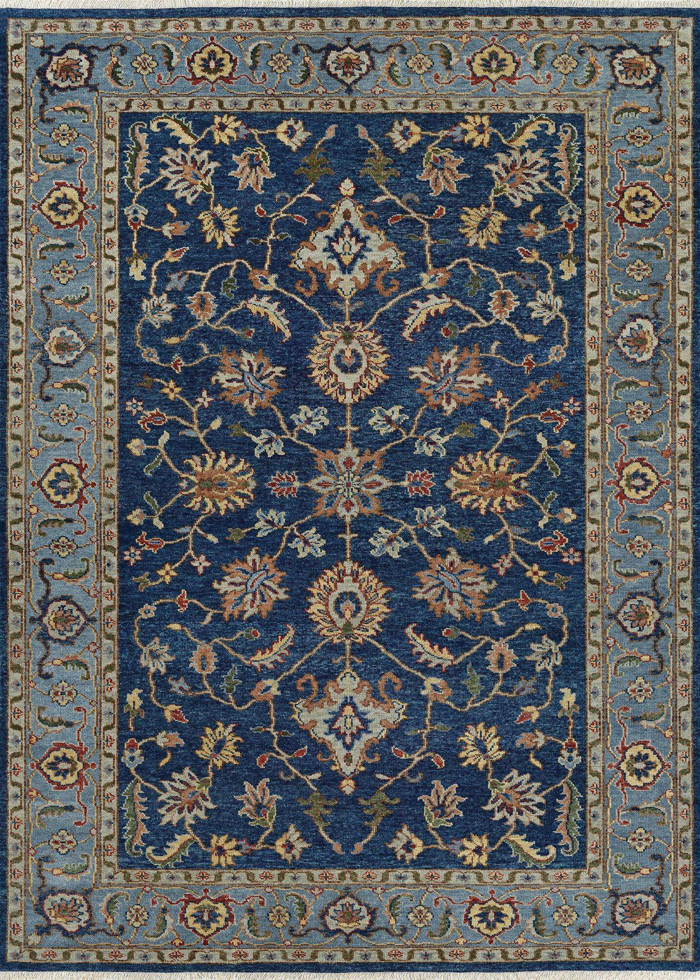 Traditional Area Rug Designs Take New