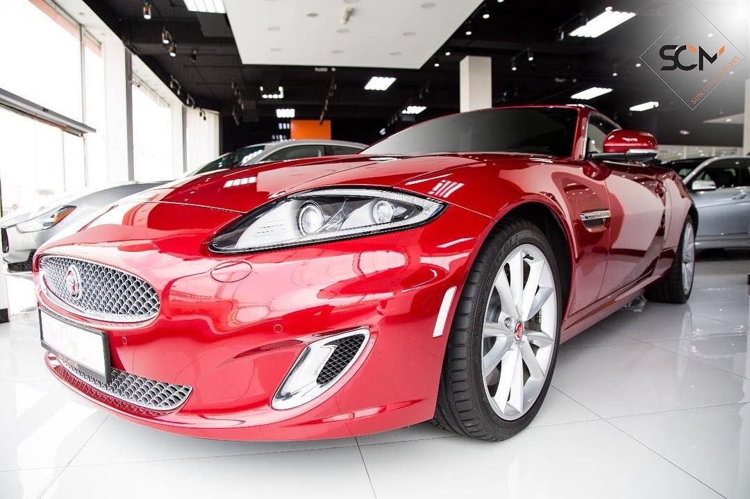 Jaguar Xk 5 0 Coupe Dramatic In Its