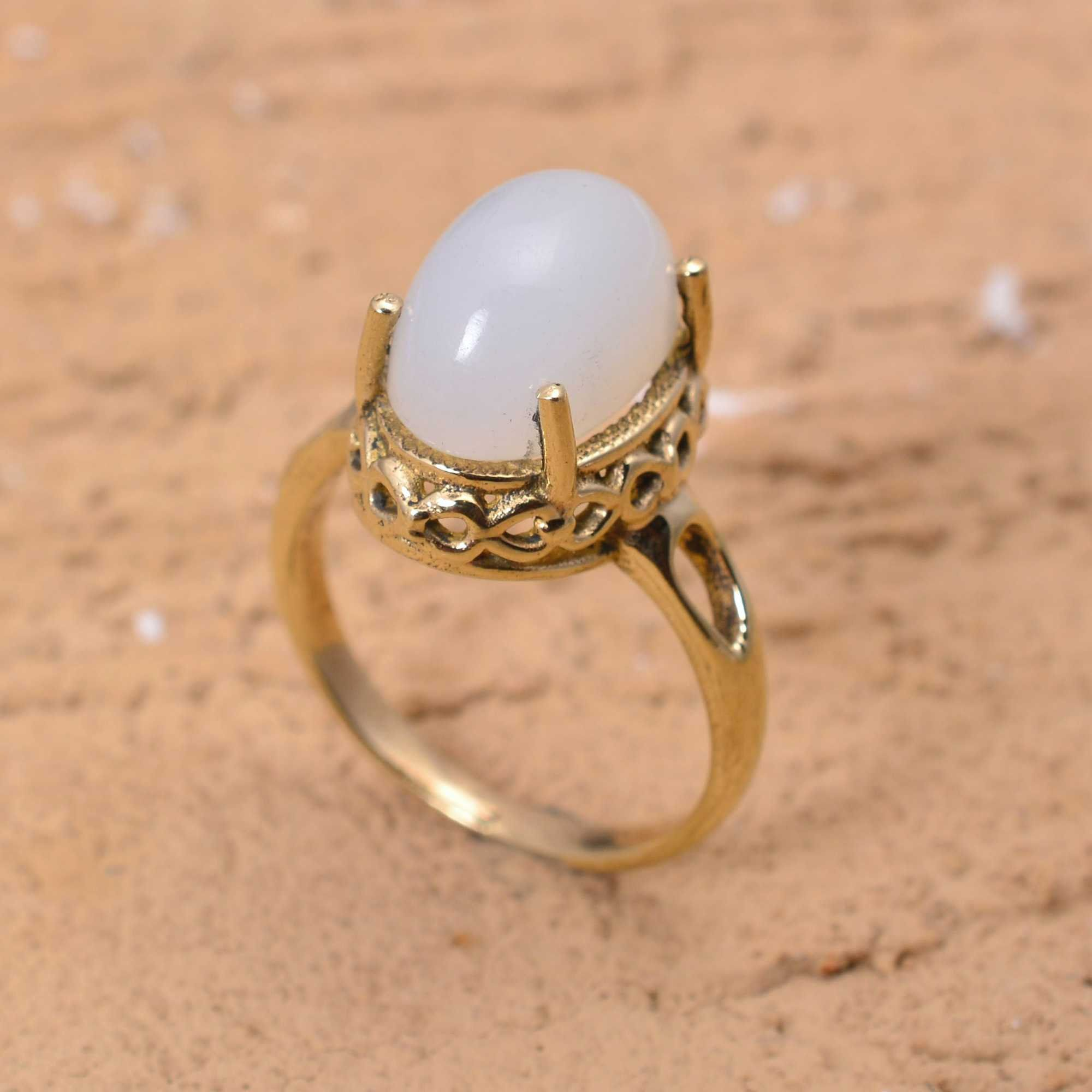 Natural Stone Ring,Handmade Ring,Brass Ring,Midi Ring,Boho Ring,Promise Ring,Personalized Ring,Gift Ring,Gift For Her