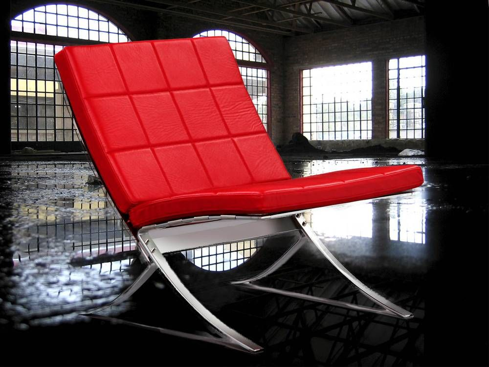 Steel-Line lounge chair, designed in 1968, by Steen Ostergaard, produced by Terrexart, Copenhagen Denmark.  Frame of chromium plated spring steel. The chairs can be assembled as sofa groups with a locking device, with or without armrests,  available in many colors leather and fabric The 2011 version is produced by  JV HOLDING and named TANGO and the cushions are cold foam filled. available at www.designchairs.dk