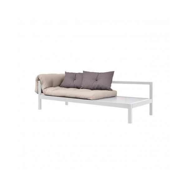 Karup Soul sofabed Grey 25265 PHP liked on Polyvore