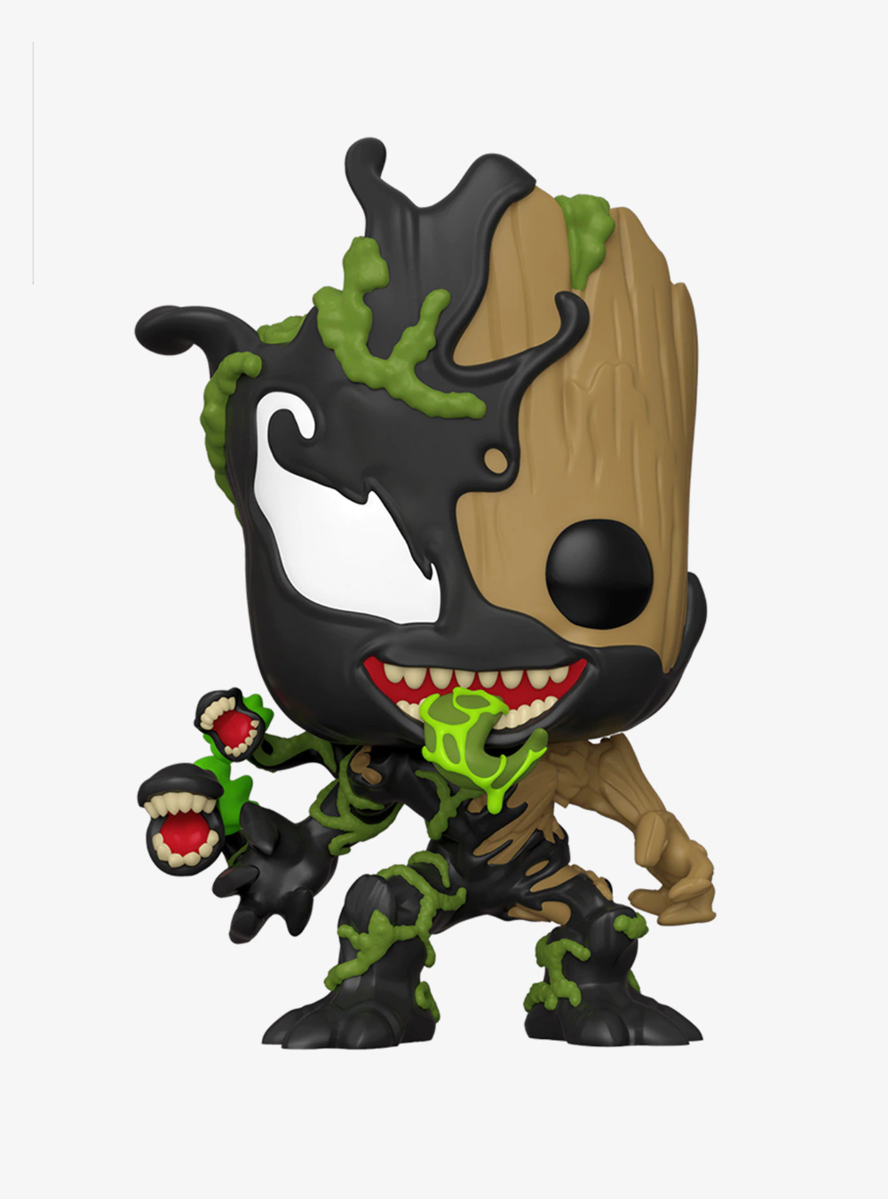 Funko Marvel Spider Man Maximum Venom Pop Venomized Groot 10 Inch Vinyl Bobble Head In 2020 Marvel Max Venom Funko Pop Groot