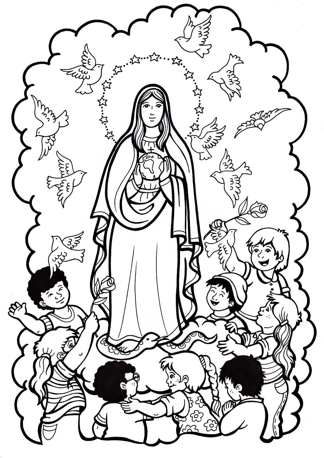 Imagen de http://www.pekedibujos.com/Dibujos/culturas/virgen/virgen3 ...