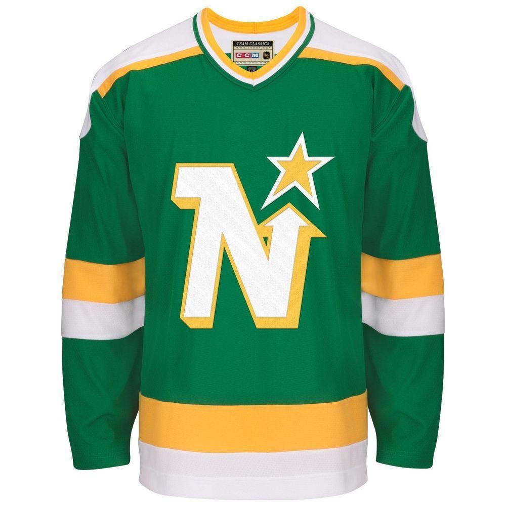 6f26a78e0 Minnesota North Stars CCM Reebok NHL Vintage Premier Green Jersey XL  nbsp