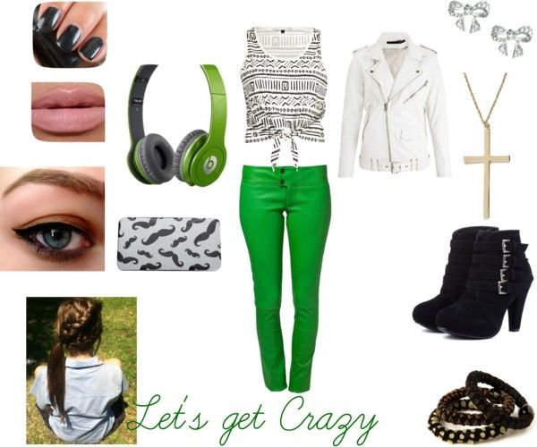 """Let's get Crazy"" by soccerjazzgirl on Polyvore"