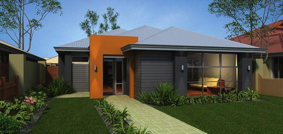 Plunkett home designs the centro rear garage visit for Rear garage home designs perth