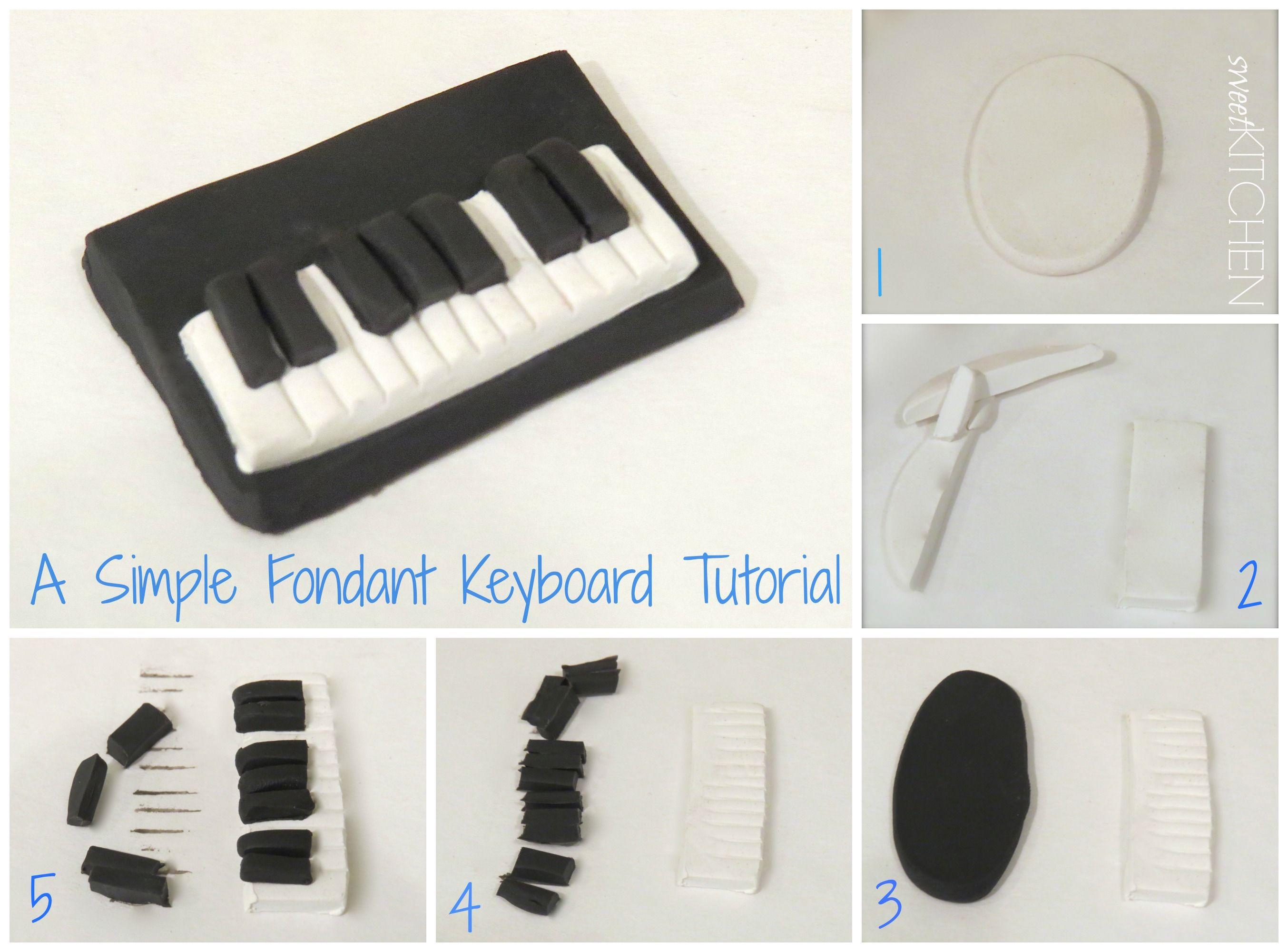 fondant keyboard tutorial