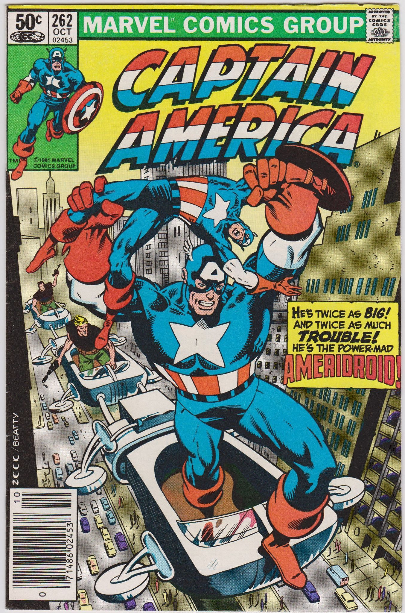 marvel comics 02453