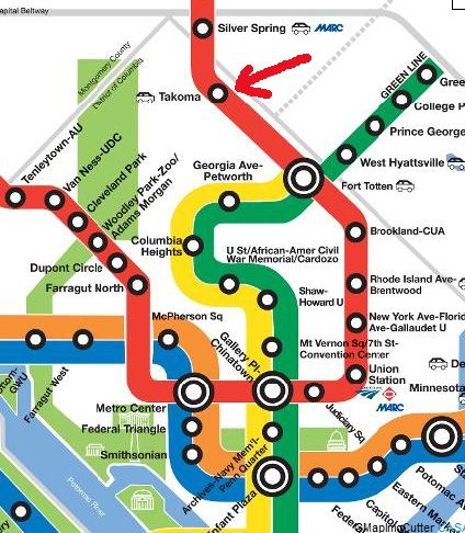 Washington Red Line Map Dc Metro Train Crash Kills 7 Over 70