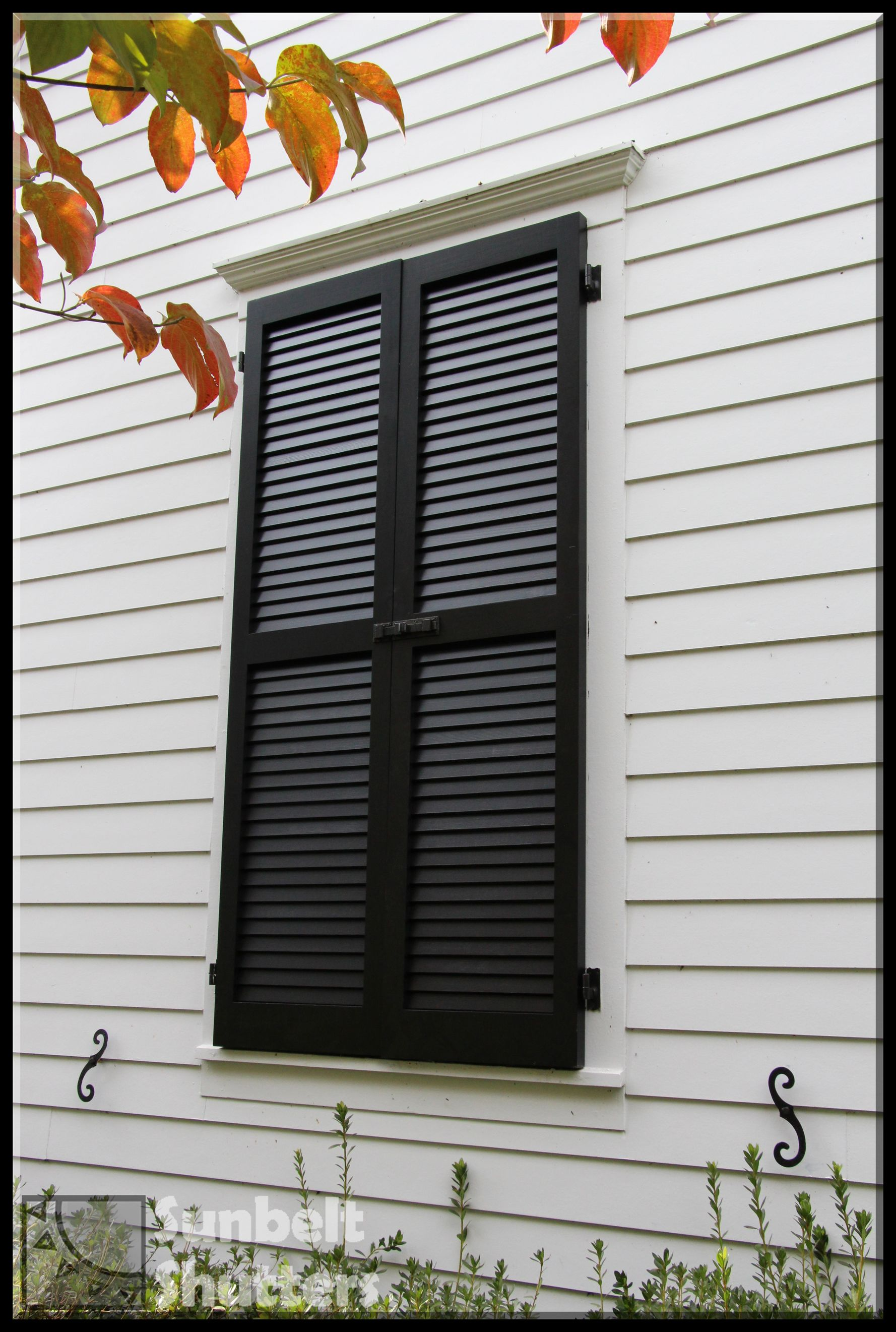 Remember The Shutter Dogs When Installing A Faux Window So That