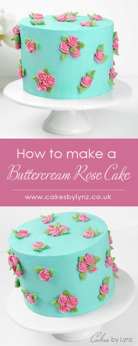 Learn How To Make A Buttercream Rose Flower Cake With This Free Video Tutorial Cakes By Lynz Buttercream Cake Cakedecorating Butterc In 2020 Rosette Cake Tutorial