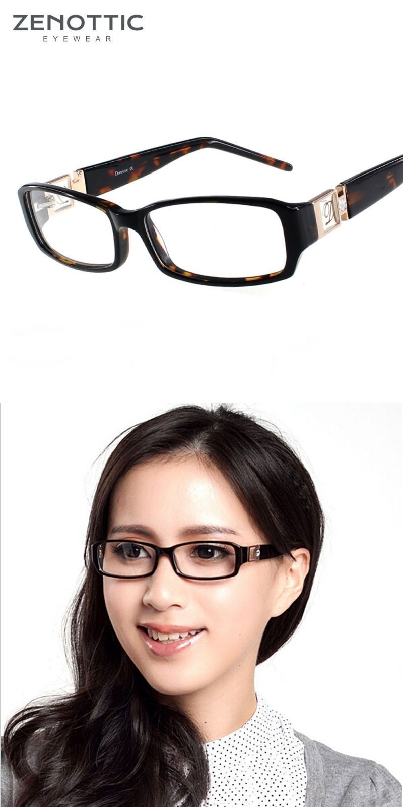 430b77563f 2018 lady style acetate glasses