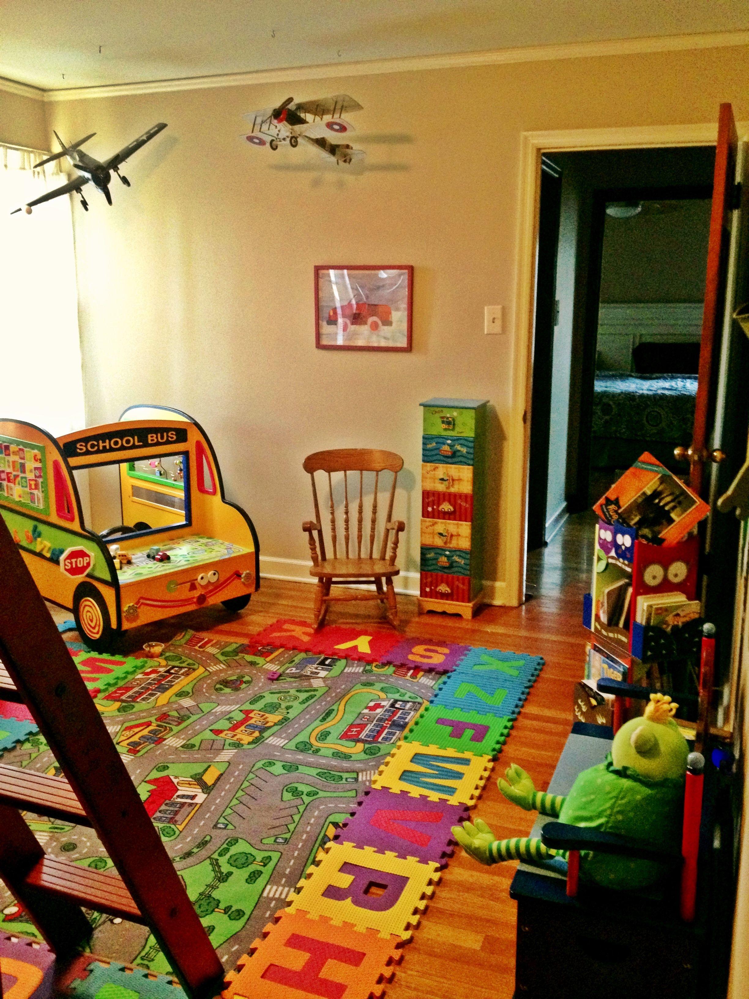 Toddler Boy S Bedroom