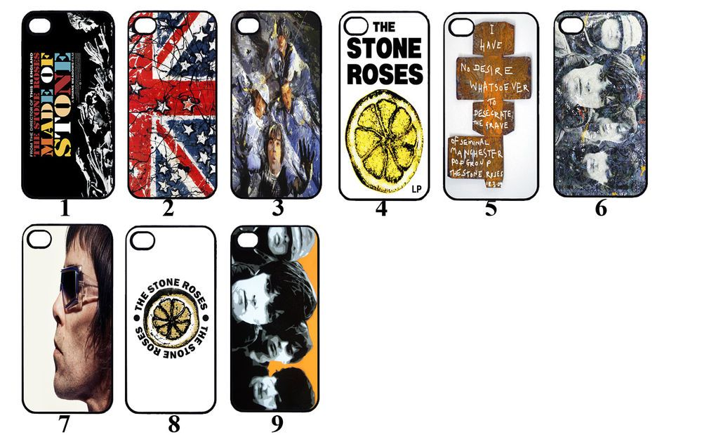 release date: 68c27 cf924 Details about The Stone Roses Phone Case/Cover. Designs for Iphone 4 ...