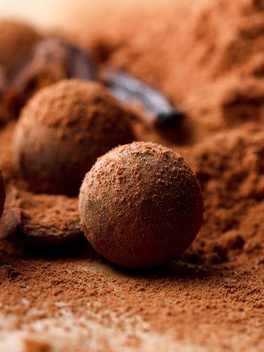 Truffes au chocolat sans beurre