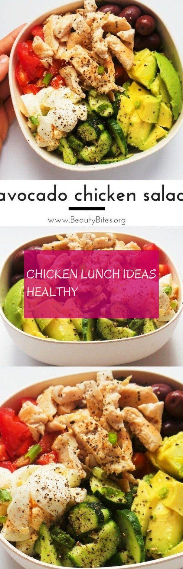 chicken lunch ideas healthy