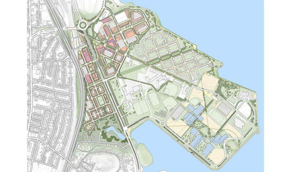 Columbia Point Master Plan | Crosby Schlessinger Smallridge | Landscape Architecture, Planning, & Urban Design