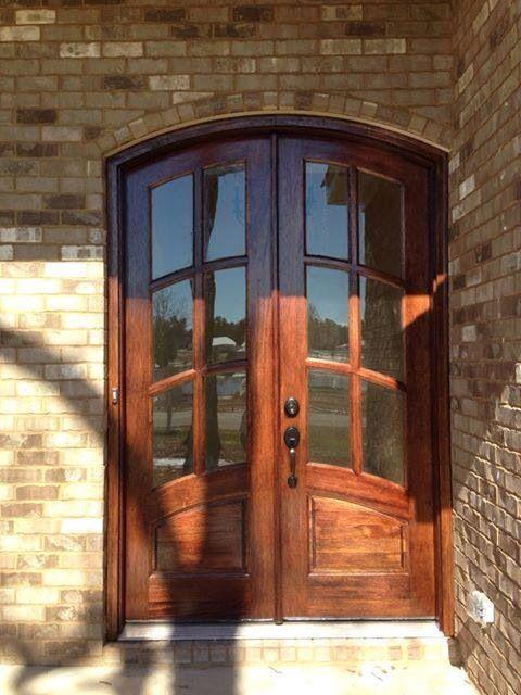 8ft Double Arch Mahogany My Front Door