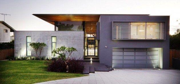 Fachadas de casas modernas peque as 8 casas for Casas pequenas minimalistas fachadas