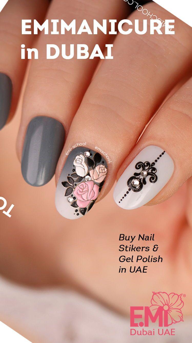 3d Nail Art Designs Unhas Decoradas Belas Unhas Unhas Faceis