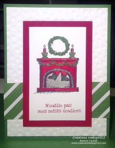 get your santa on stampin up - Google Search | Xmas cards ...