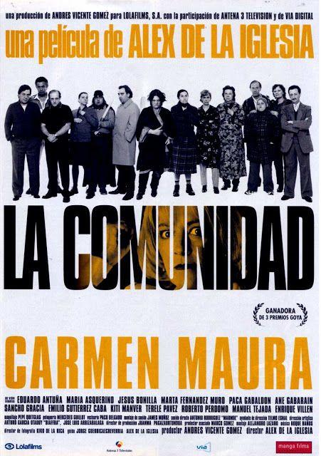 Alex De La Iglesia La Comunidad Moving Movie Music Book Spanish Movies
