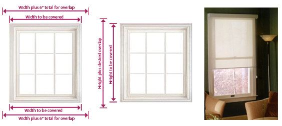 Inside Mount My Style Cellular Shades Roller Shades