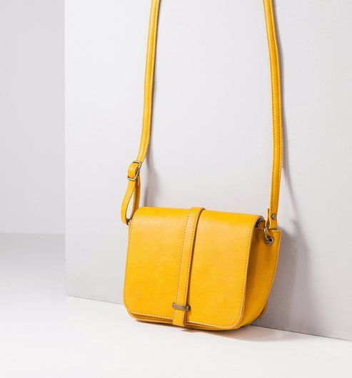 423deed0b8 Petit sac à main Femme safran - Promod   Sac à main   Sac à main ...