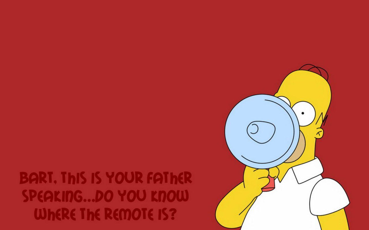 Funny Homer Simpson Wallpapers