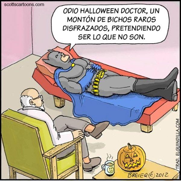 Odio Halloween Doctor Spanish Jokes Humor Halloween