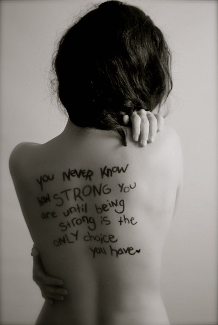 full back tattoo quotes about strength for girls you