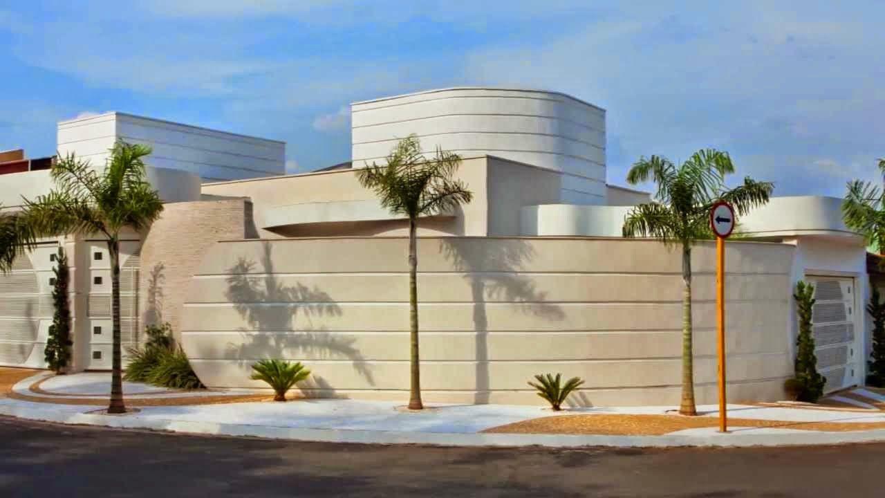 Fachadas casas esquina terreno modernas modelos dicas - Modelos de fachadas de casas modernas ...