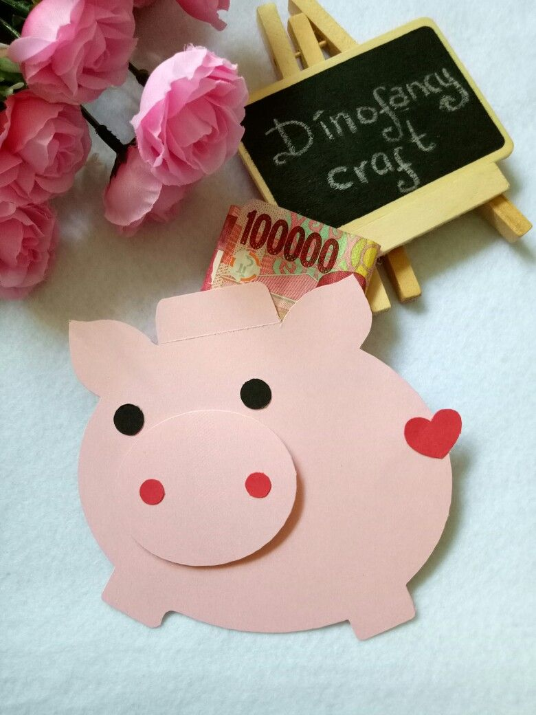 cute anvelope for lunar new year 2019 year of pig paper craft rh pinterest com