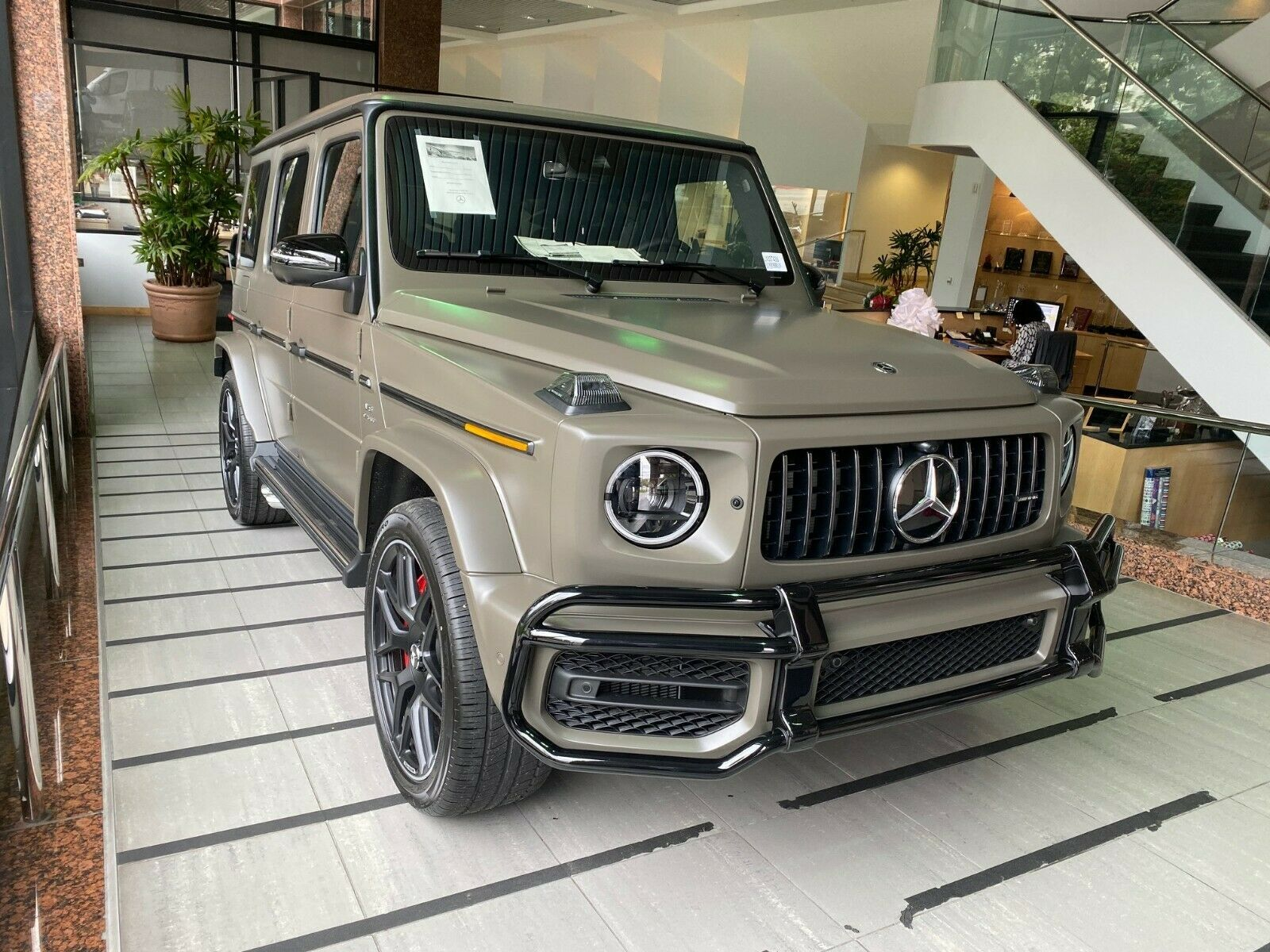 G63 Amg 2020 Dark Olive Green Magno Night Package 22 With Images