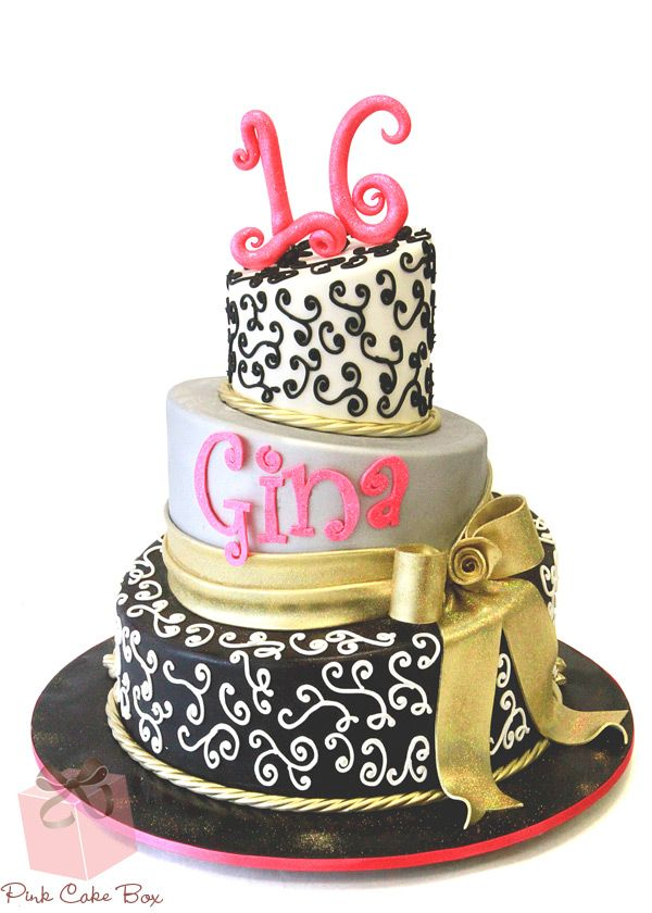 Happy Birthday Gina Cake