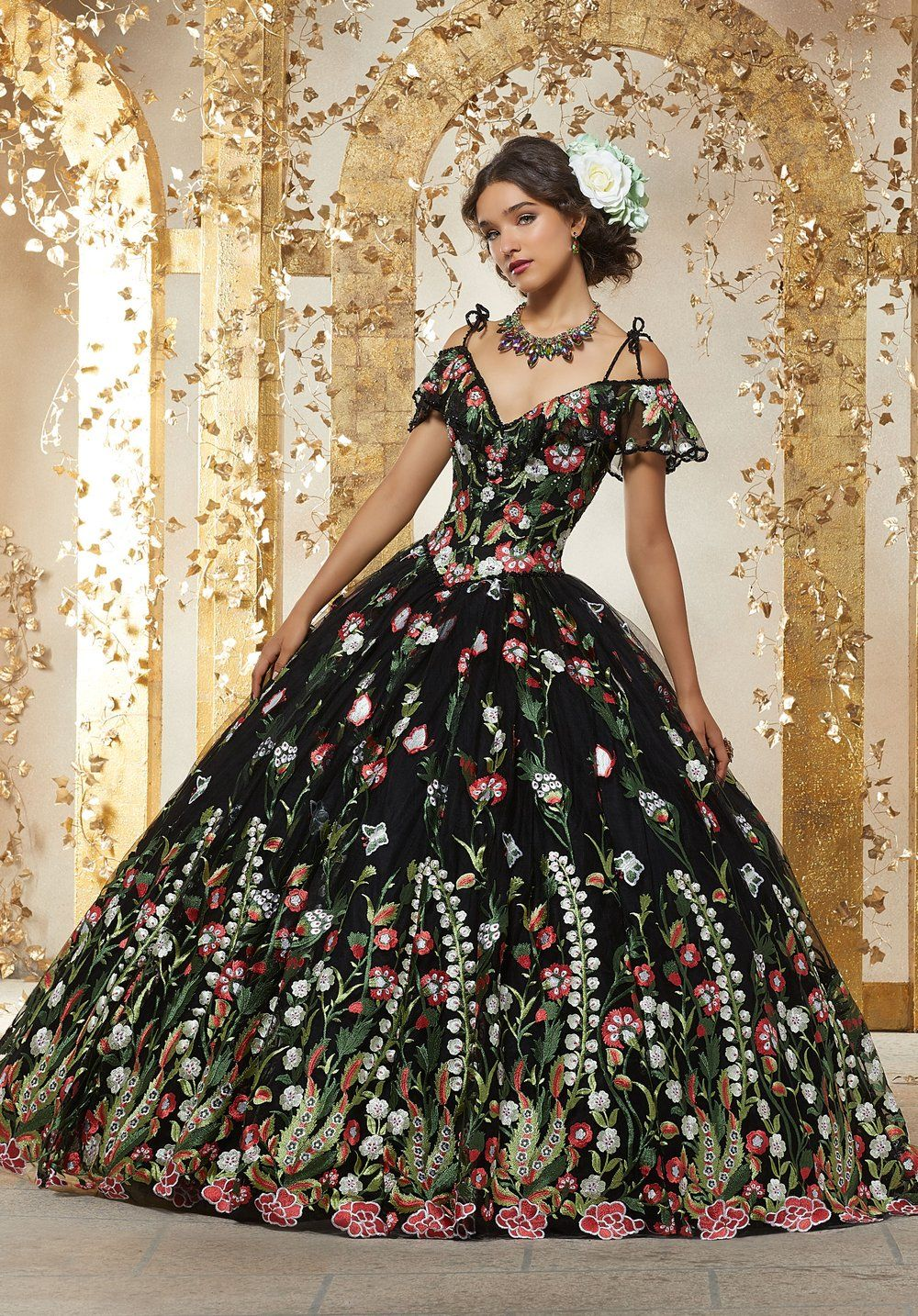 Vizcaya By Mori Lee 89238 Quinceanera Dress In 2021 Black Quinceanera Dresses Mexican Quinceanera Dresses Quince Dresses [ 1434 x 1000 Pixel ]