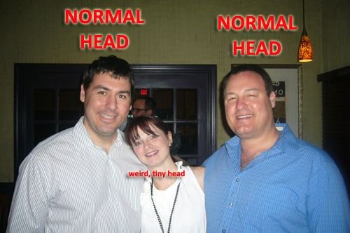 how to get smaller head