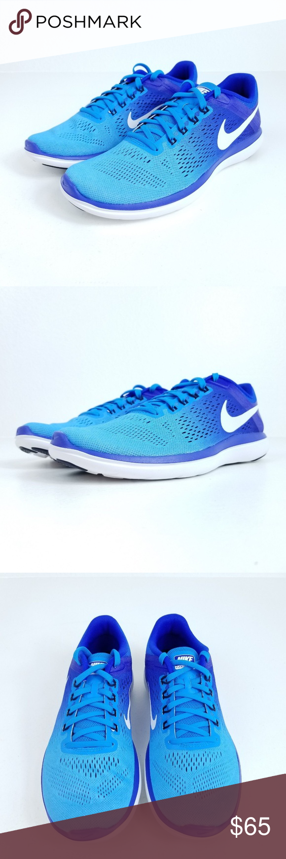 b5f3eab51e533 NIKE Flex 2016 RN Running Shoes Womens Product Name  Flex 2016 RN Running  Shoes Style Number  830751 401 Size  11 Color  Blue Glow •Brand new in box  •100% ...