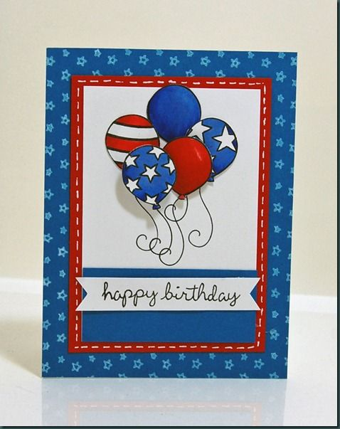 Happy 4th Of July Cards Handmade Kids Birthday Cards Cards