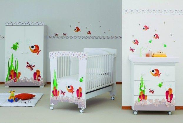 Camere Per Bambini Neonati : Come arredare la cameretta per il neonato dalla scelta dei colori